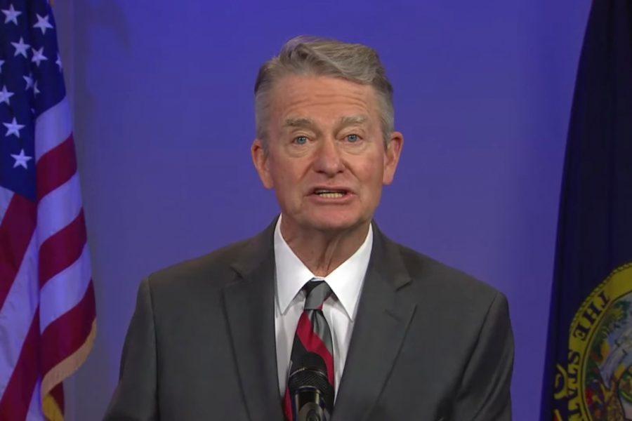 Idaho Gov. Brad Little speaks about the Covid-19 emergency.